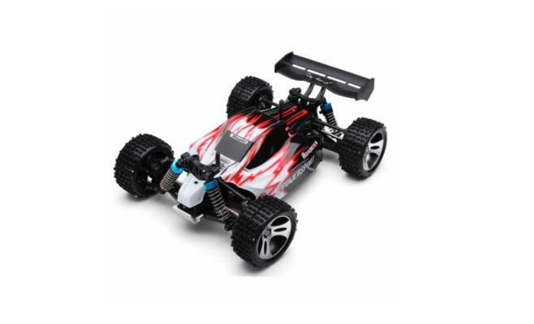 rc-cars-Wltoys A959 Rc Car 1/18 2.4Gh 4WD Off-Road Buggy-14