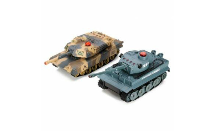 Huanqi Infrared RC Battle Tank 2Pcs Set