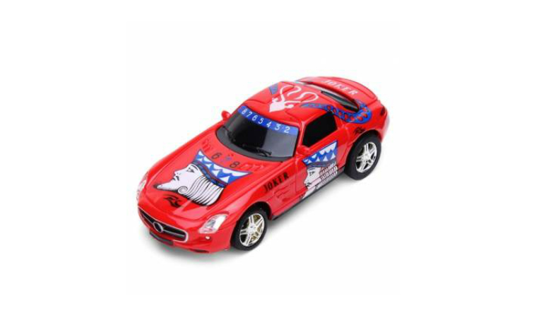 3PCS Great Wall 2.4G 1/67 Mini Poker King Electrical Car