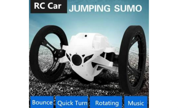 2.4G 4CH Bounce Car RC Car Sumo Robot