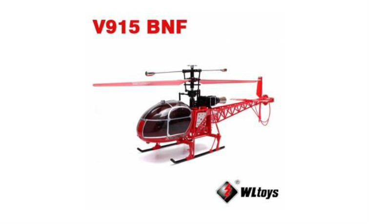 WLtoys V915 2.4G 4CH Scale Lama RC Helicopter