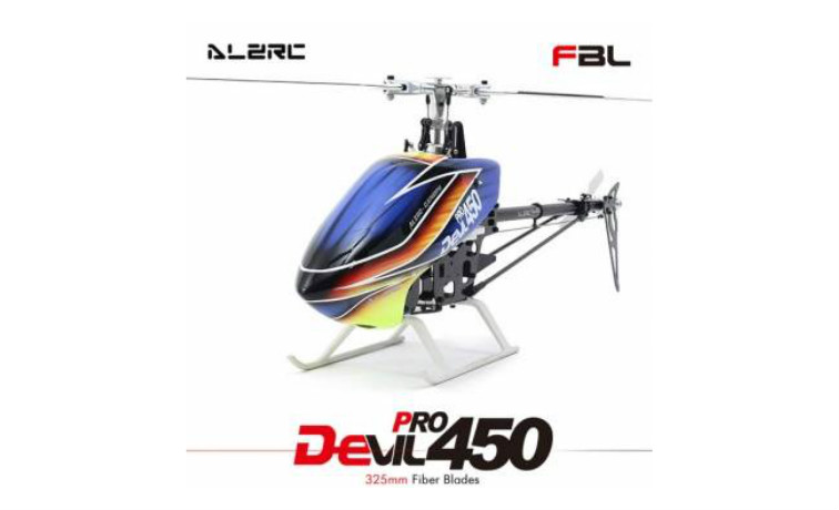 ALZRC Devil 450 Pro V2 FBL KIT 14H45DRK RC Helicopter