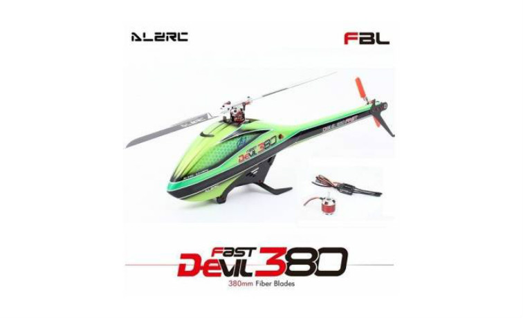 ALZRC Devil 380 FAST RC Helicopter Combo