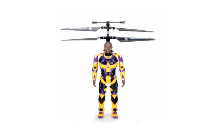 ROBOJAM NBA Star 3.5CH Infrared RC Helicopter Aircraft