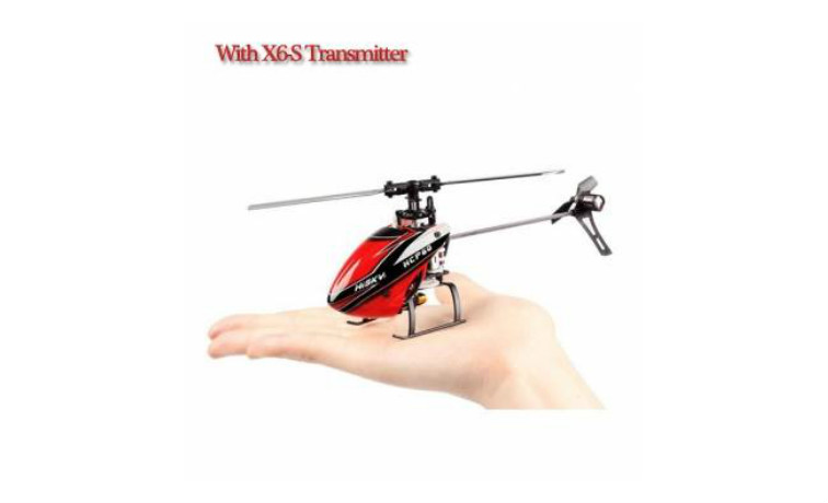 Hisky HCP60 2.4G 6CH 6 Axis RC Helicopter With New X-6S