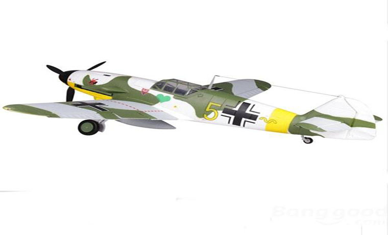FMS BF 109F Warbirds Aircraft 1400mm RC Airplane PNP