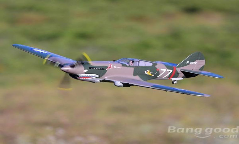 rc-airplanes-FMS P-40B Warhawk 980mm Wingspan Warbird High Speed PNP-FMS P 40B