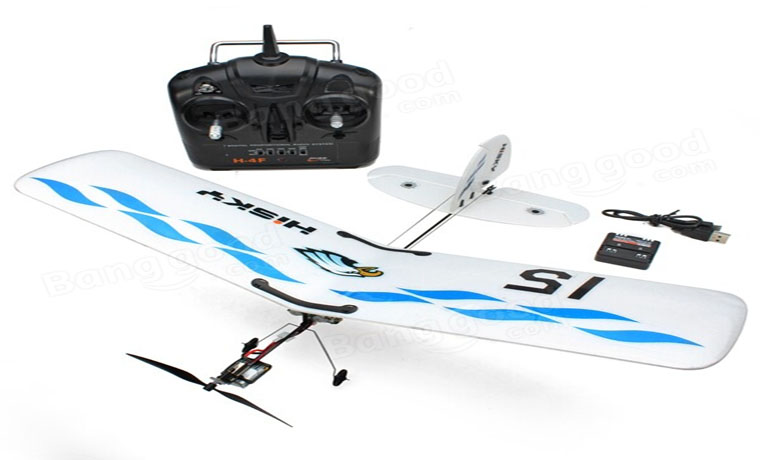 rc-airplanes-Hisky Buzz HFW400 2.4G 3CH Parkflyers Indoor RC Airplane-Hisky Buzz HFW400