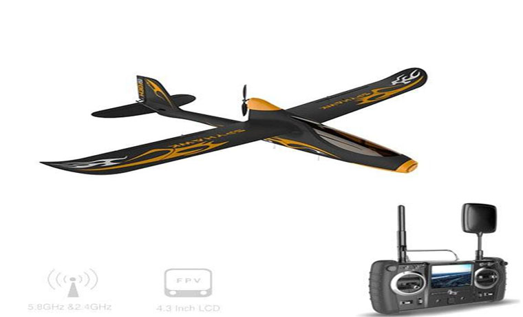 Hubsan H301S 5.8G FPV 4CH RC Airplane With GPS Module