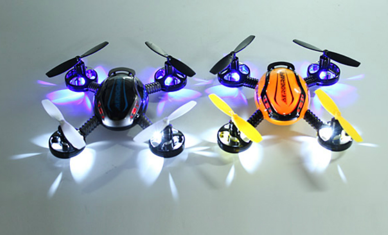 JXD 388 Gyroscope RC Quadcopter With 4 Lights MODE 2