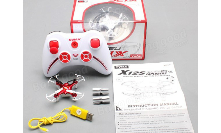 SYMA X12S Nano Explorers RC Quadcopter