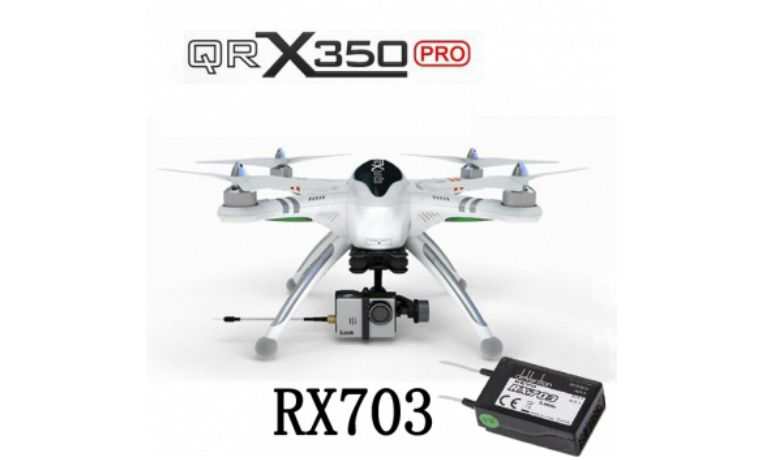 Walkera QR X350 Pro RC Quadcopter With RX703 For Gopro 3
