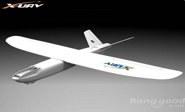 X-uav Mini Talon EPO 1300mm V-tail FPV Plane Aircraft Kit