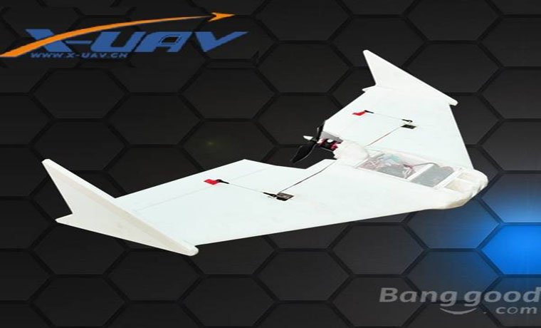 X-uav Ripper 1190mm Wingspan MFM FPV RC Plane Aircraft Kit
