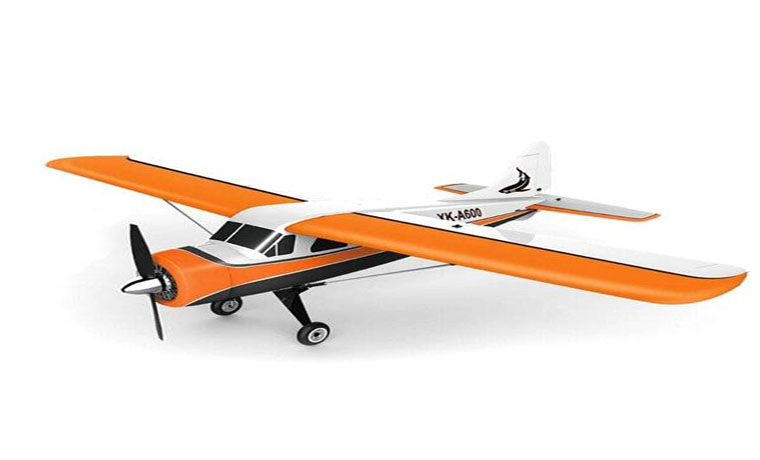 XK DHC2 A600 5CH 3D6G System RC Airplane Compatible Futaba