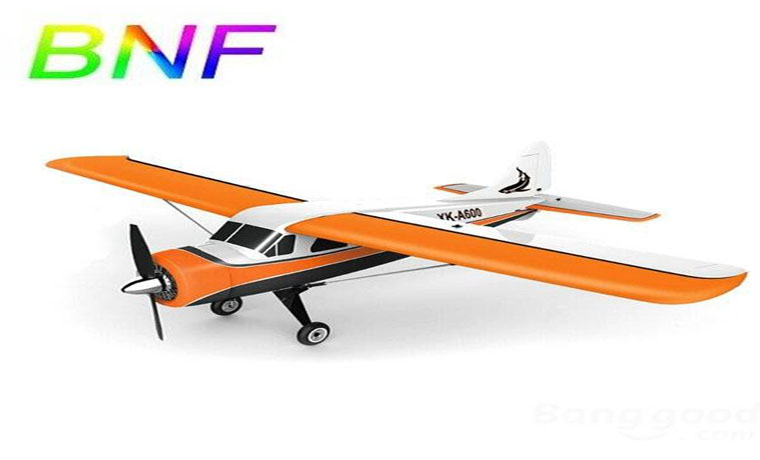 XK DHC-2 A600 5CH 3D6G RC Airplane Compatible Futaba