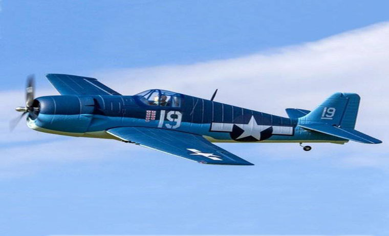 Dynam F6F Hellcat 1270mm Wingspan Warbirds RC Airplane PNP