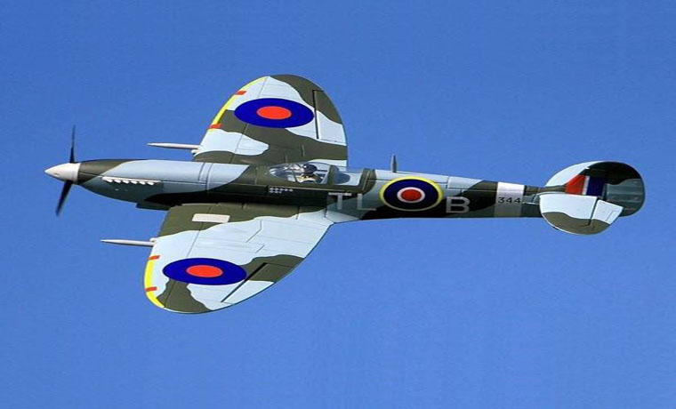 Dynam Supermarine Spitfire 1200mm Wingspan RC Airplane PNP