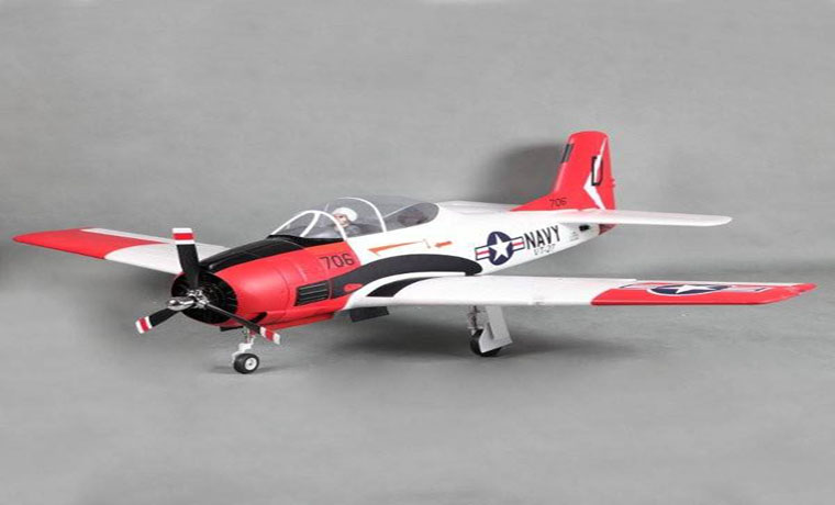 FMS T-28 Trojan V4 Red 1400mm 55″ Wingspan PNP