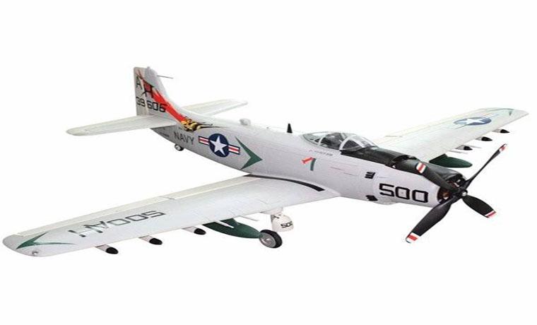 HSD A-1 Skyraider V2 RC Warbird Airplane PNP