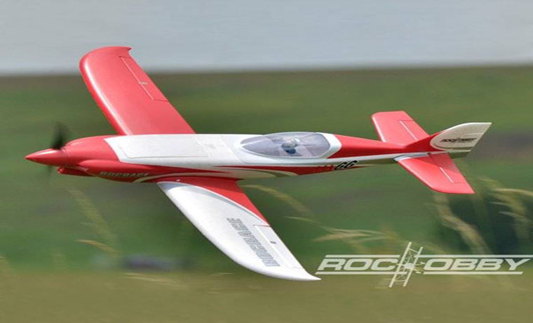 RocHobby NXT Nemesis Racing EPO 1100mm Wingspan RC Airplane PNP