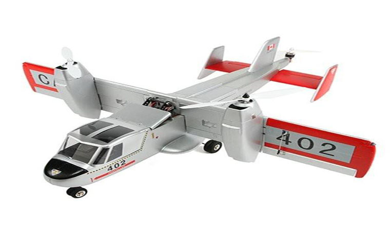 Unique Models Canadair CL-84 Dynavert Tilt-Wing VTOL RC Airplane PNP