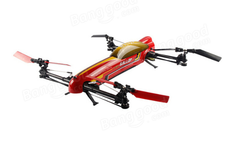WLtoys V383 500 Electric 3D RC Quadcopter