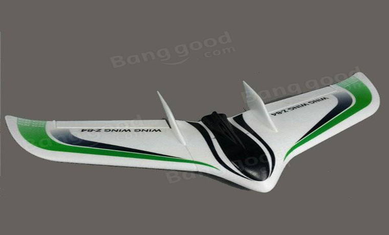 Wing Wing Z-84 EPO 845mm Wingspan Flying Wing KIT Green