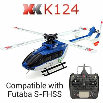 rc-helicopters-XK K124 6CH Brushless EC145 3D6GRC Helicopter-10