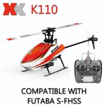 XK K110 Blast 6CH 3D6G RC Helicopter