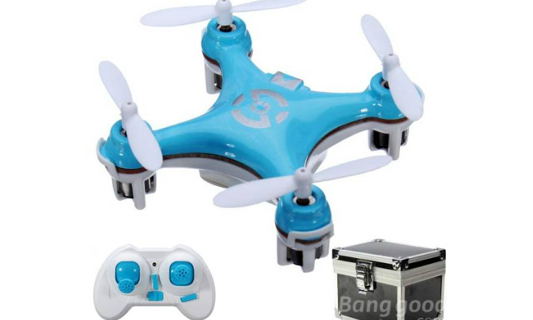 rc-quadcopters-Cheerson CX10 RC Quadcopter Mode 2 Blue + Gift Box-Cheerson CX10