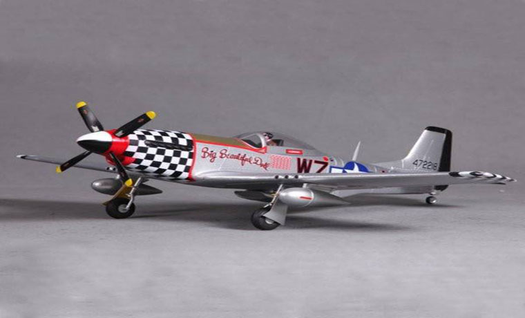 "rc-airplanes-FMS P-51 V2 Big Beautiful Doll 800MM 31.5"" Wingspan PNP-FMS P 51"