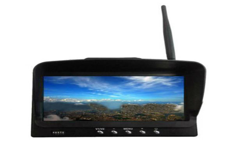 HIEE 7 Inch FPV Wireless Monitor With Built-in 32CH 5.8G Receiver