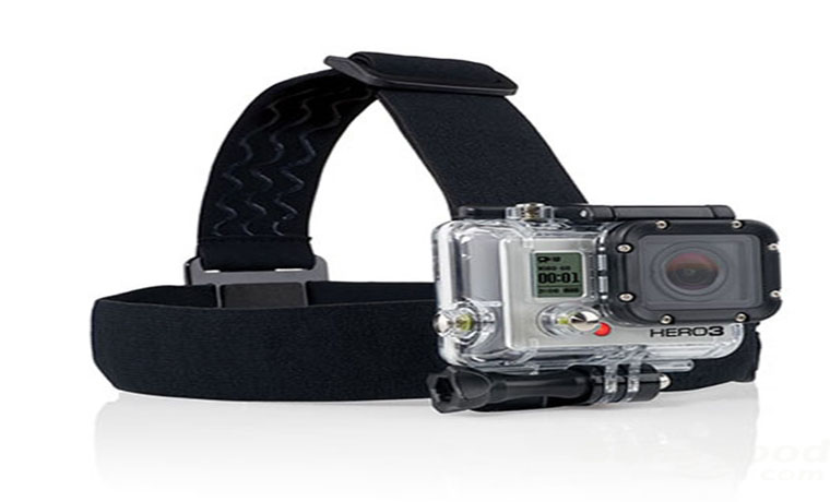 Head Strap Mount For GoPro And SupTig Camera
