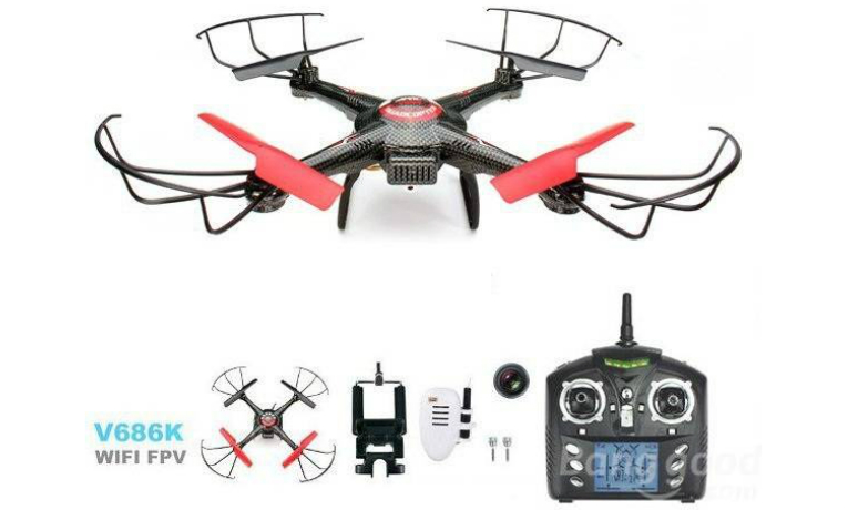 JJRC V686K WIFI FPV Headless RC Quadcopter with Camera
