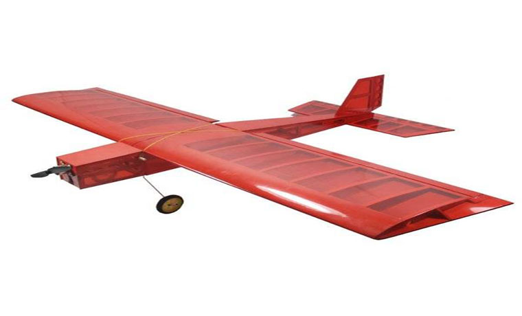 rc-airplanes-Big Stick Laser Cut Balsa Kit With Landing Gear And Wheels-Laser Cut Balsa Kit