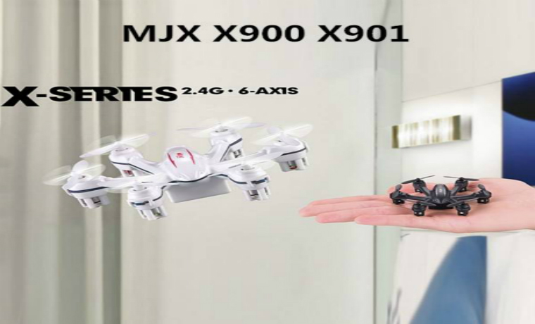 MJX X900 X901 3D Roll First Nano Hexacopter