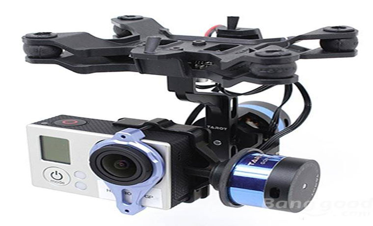 Tarot T-2D V2 Camera Gimbal ZYX22 Gyro TL68A00 For GoPro3