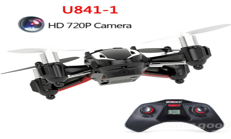 Upgrade UDI U841-1 HD Camera RC Quadcopter UFO