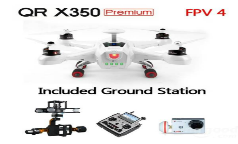 Walkera QR X350 Premium FPV RC Quadcopter FPV 4