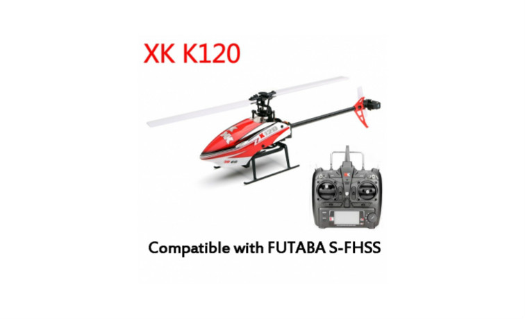 XK K120 Shuttle 6CH Brushless 3D6G RC Helicopter