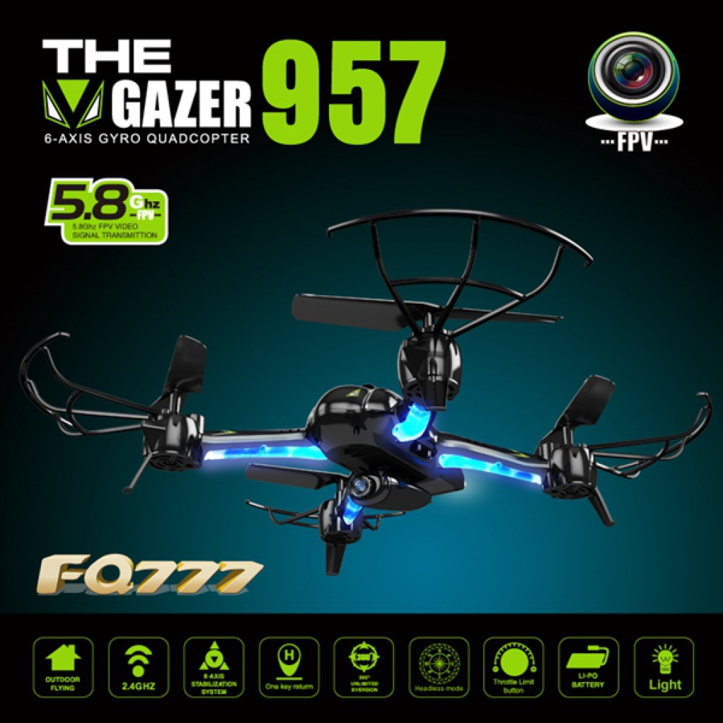 rc-quadcopters-FQ777 AF957F Camera One Key Return RC Quadcopter-FQ777 AF957F 5.8G FPV With 2.0MP Camera One Key Return RC Quadcopter 1024x1024