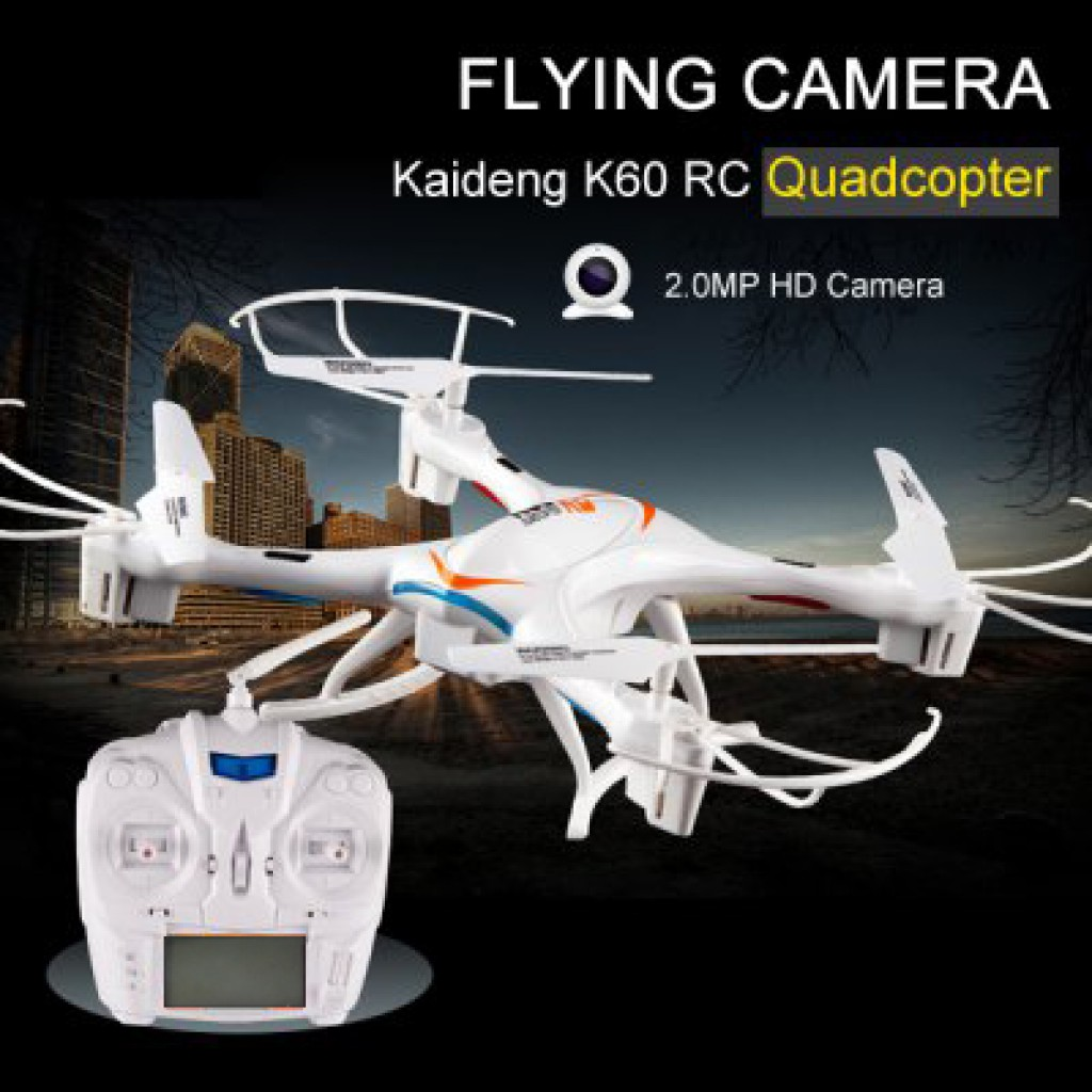 rc-quadcopters-KAI DENG KD K60 X-Fighter RC Quadcopter-KAI DENG KD K60 X Fighter 2.4G 6 Axis 4CH 2MP Camera RC Quadcopter RTF 1024x1024