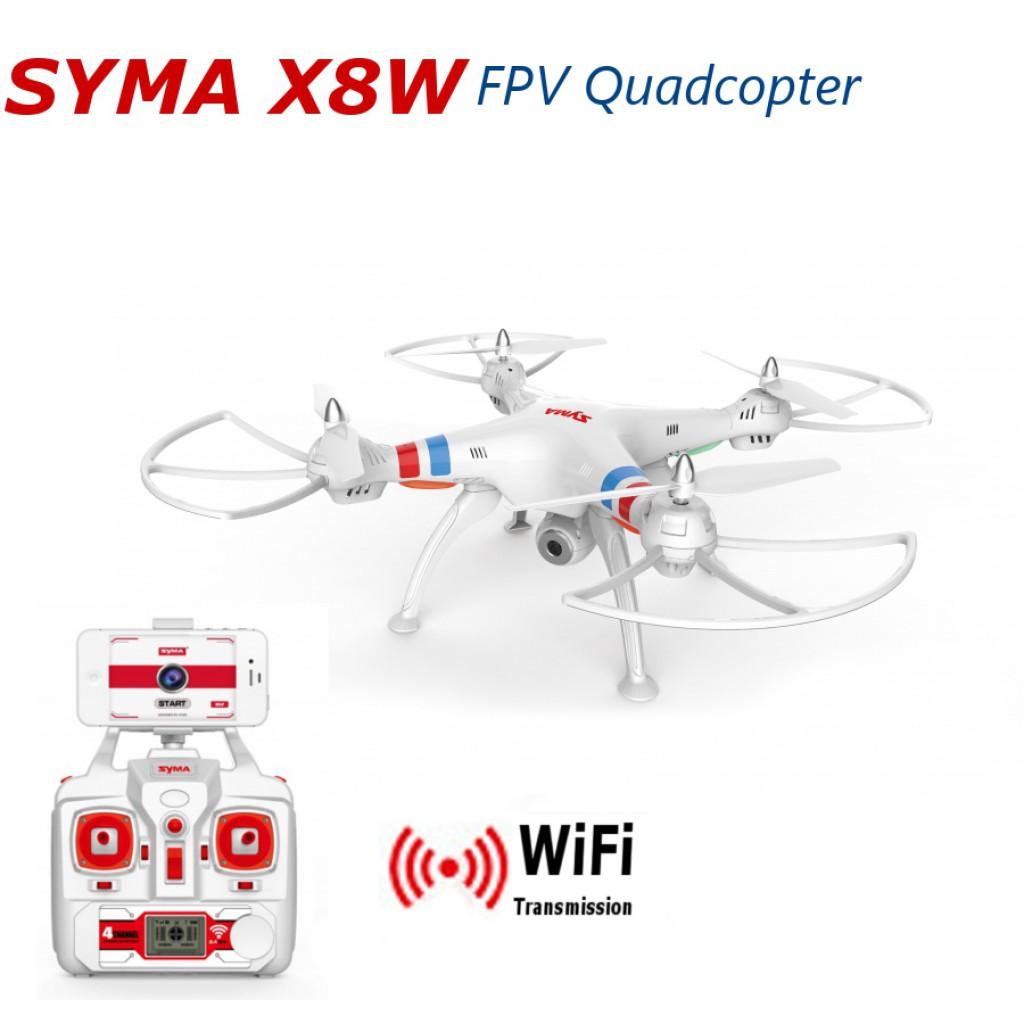 rc-quadcopters-Syma X8W WiFi FPV RC Quadcopter-Syma X8W Explorers WiFi FPV RC Quadcopter with 2MP Camera RTF 1024x1024