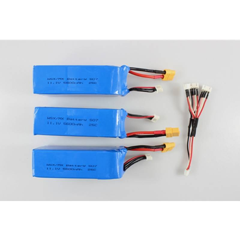 Battery Charging Cable for XK X380 X380-A X380-B X380-C RC Quadcopter