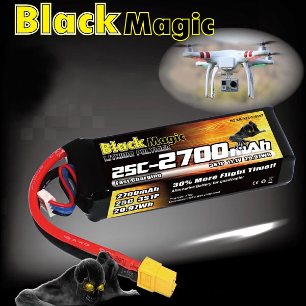 batteries-DJI PHANTOM CX-20 Quanum Nova With BlackMagic 2700mAh 11.1V Battery-BlackMagic 2700mAh 11.1V Battery for DJI PHANTOM CX 20 Quanum Nova 1024x1024