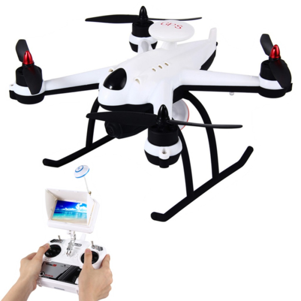 rc-quadcopters-Flying 3D X6 FPV Camera GPS RC Quadcopter-Flying 3D X6 Plus 5.8G FPV With 720P Camera 2.4G 6CH GPS RC Quadcopter RTF 1024x1024