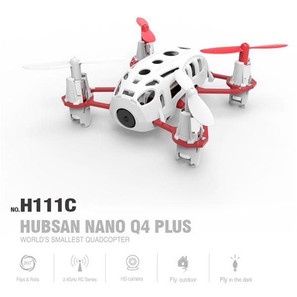 Hubsan H111C Nano Q4 Plus 3D Flips RC Quadcopter