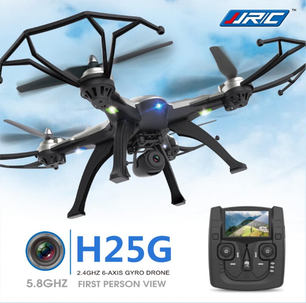 rc-quadcopters-JJRC H25G Headless Mode One Key Return RC Quadcopter-JJRC H25G 5.8G FPV With 2MP Camera 2.4G 6 Axis Headless Mode One Key Return RC Quadcopter RTF 1024x1014
