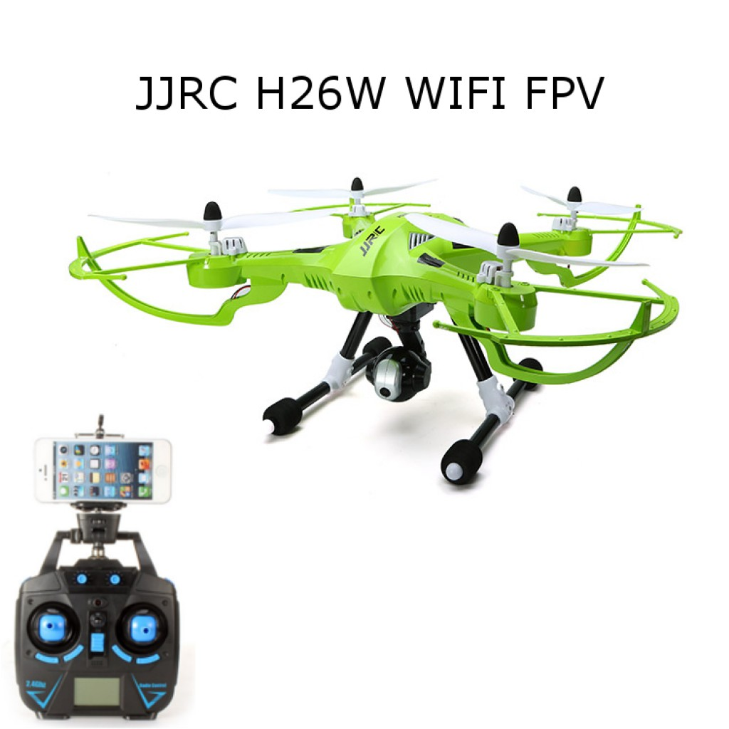 rc-quadcopters-JJRC H26W WIFI FPV Camera Headless RC Quadcopter-JJRC H26W WIFI FPV With 720P Camera Headless Mode One Key Return RC Quadcopter RTF 1024x1024